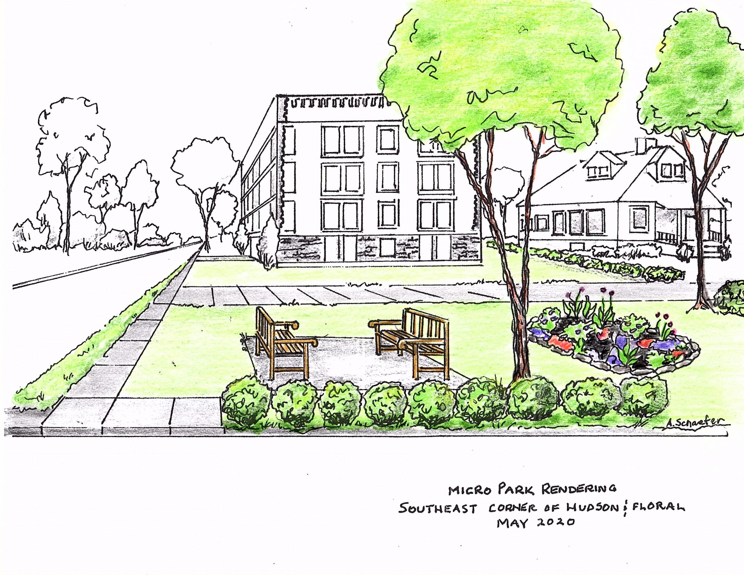 Help create a Floral-Hudson Pocket Park